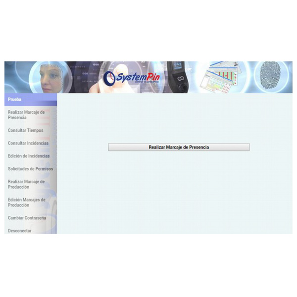 Servicio web de marcaje