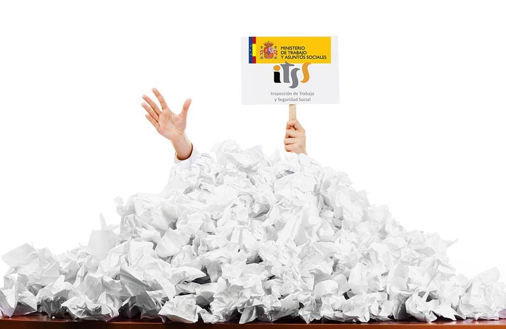Información para gestorías de cómo afrontar una inspección ordinaria del registro laboral de una empresa.